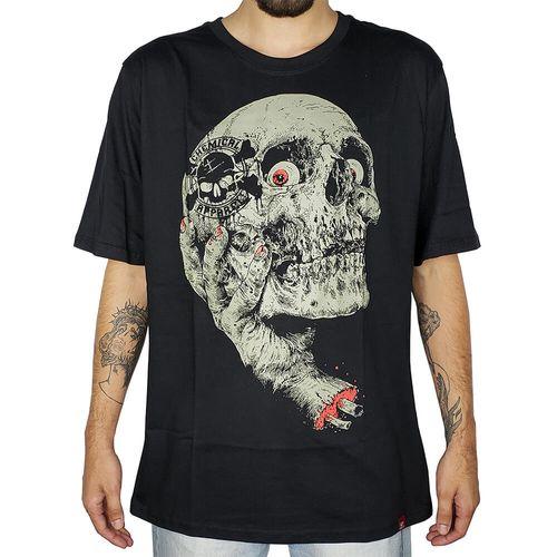 Camiseta-Skull-Hand-Preta-