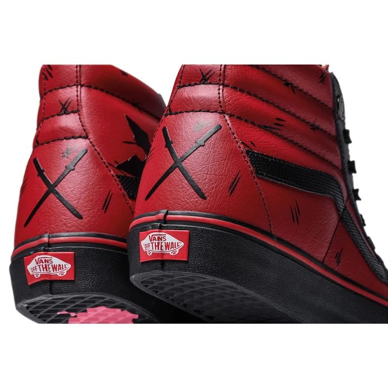 Tênis Vans Sk8 Hi Marvel Deadpool Black - galleryrock