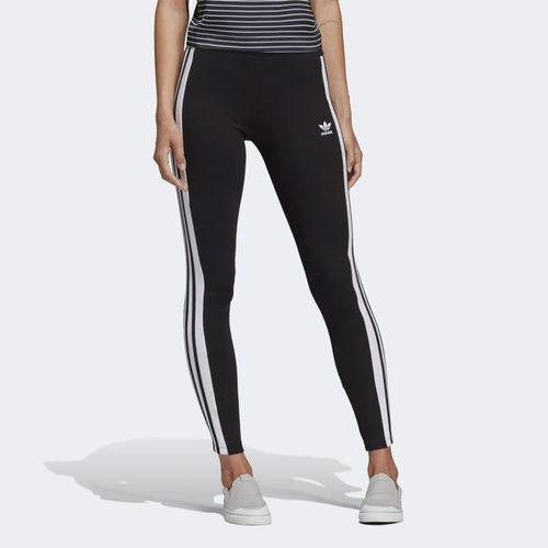 Calca-Adidas-Listra-Lateral-Legging-Preta-