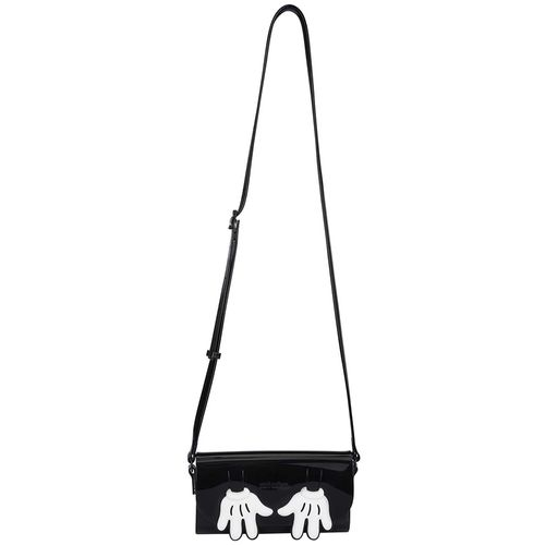 Mini-Melissa-Cute-Bag-Mickey-Preto-Branco