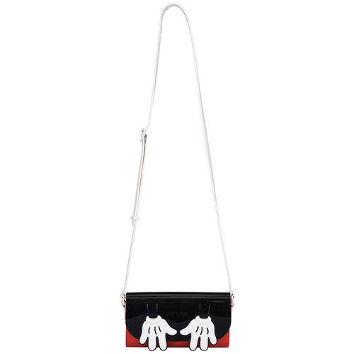 Mini-Melissa-Cute-Bag-Mickey-Preto-Branco-Vermelho
