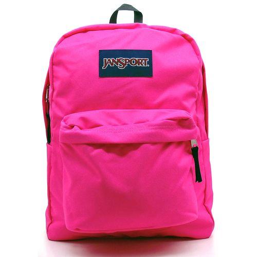Mochila-Jansport-Superbreak-Ultra-Pink