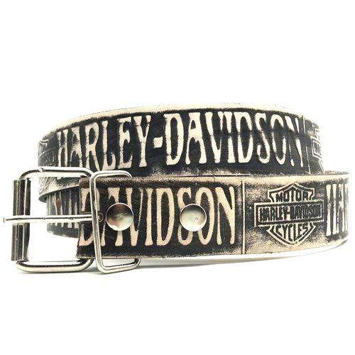 Cinto-Couro-Harley-Davidson