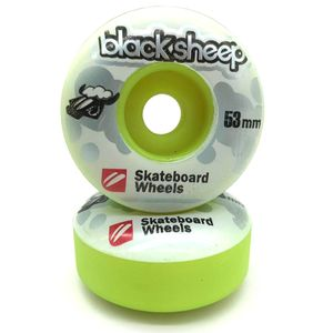 Roda-Black-Sheep-Collor-53mm-Verde-Claro