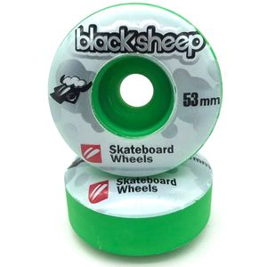 Roda-Black-Sheep-Collor-53mm-Verde-Escuro
