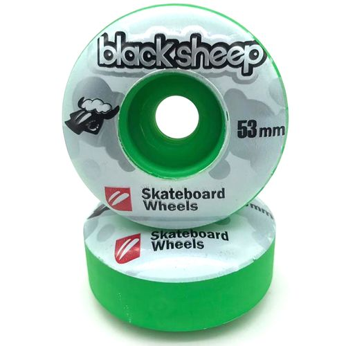 Roda-Black-Sheep-Collor-53mm-Verde-Escuro