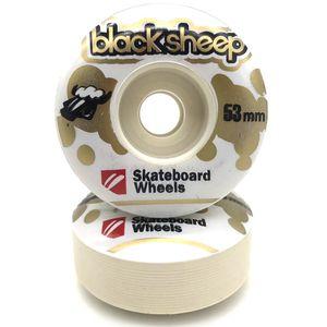 Roda-Black-Sheep-Collor-53mm-Branca-Dourada