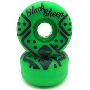 Roda-Black-Sheep-51mm-Verde