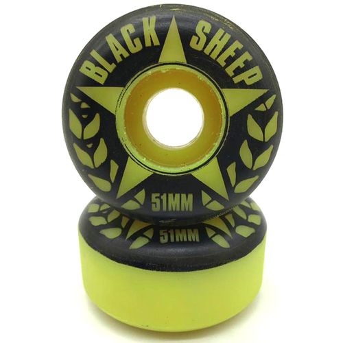 Roda-Black-Sheep-51mm-Amarela