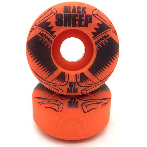 Roda-Black-Sheep-51mm-Laranja
