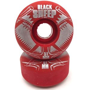 Roda-Black-Sheep-51mm-Vermelha