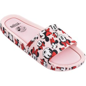 Melissa-Beach-Slide-Mickey-and-Friends-Rosa-Branco