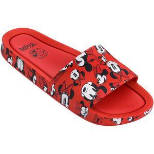 Melissa-Beach-Slide-Mickey-and-Friends-Vermelho-Branco