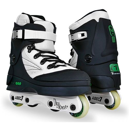 Patins-Traxart-Ice-Daciel-Monster-Branco-Preto