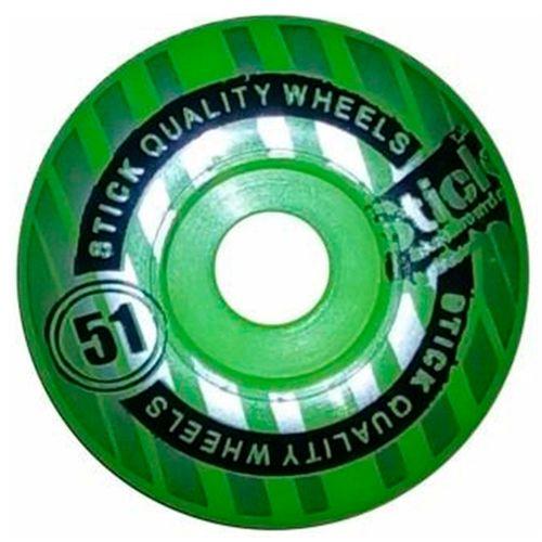 Roda-Para-Skate-Stick-Verde-Claro-51mm
