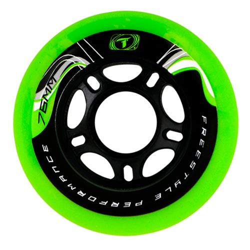 Roda-para-Patins-Freestyle-Traxart-Krazyleg-76mm---Verde