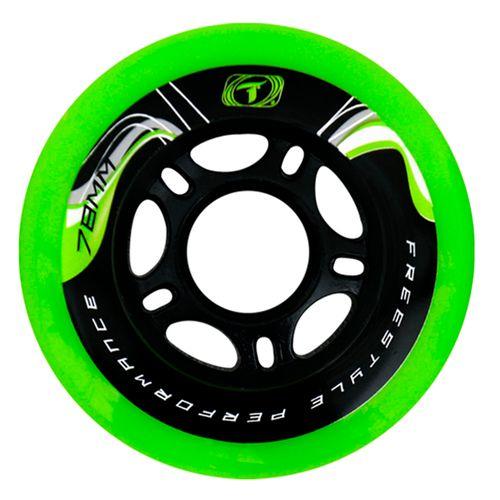 Roda-para-Patins-Freestyle-Traxart-Krazyleg-78mm---Verde-