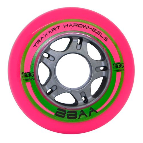 Roda-para-Patins-Fitness-Traxart-Hardwheels-76mm-88AA-Pink-