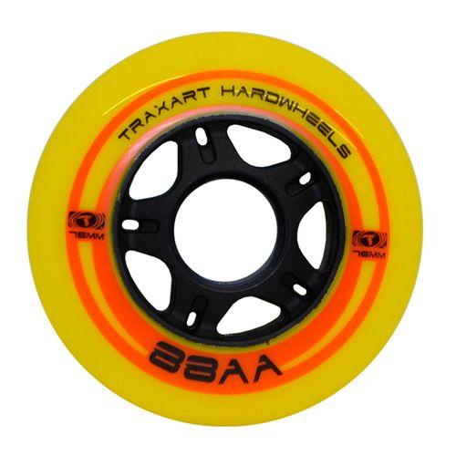 Roda-para-Patins-Fitness-Traxart-Hardwheels-76mm-88AA-Amarela