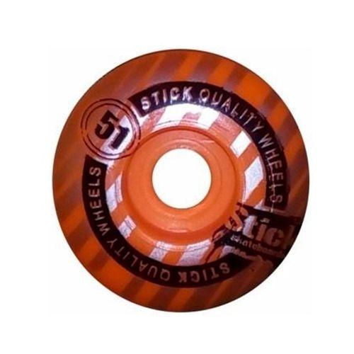 Roda-Para-Skate-Stick-Laranja-51mm