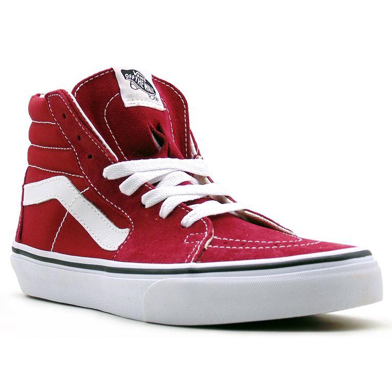 2dc71220e5f Tênis Vans SK8 Hi Rumba Red True White L139 - galleryrock
