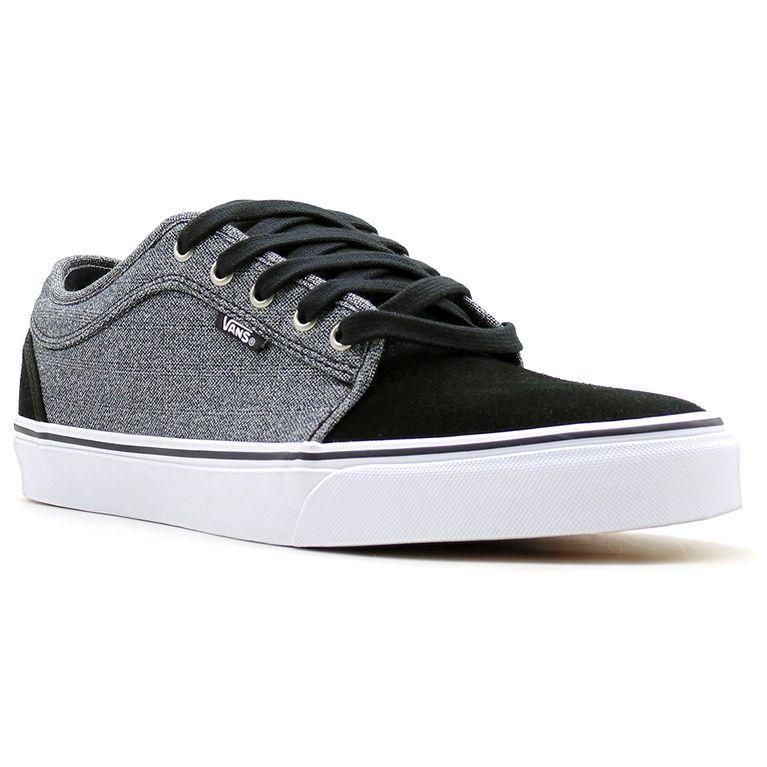 ece9c6aa6e48f2 Tênis Vans Chukka Low Suiting Black Dark Gray - galleryrock