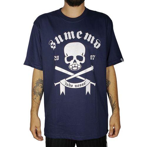 Camiseta-Sumemo-Original-Caveira-Tudo-Nosso-Ii-Azul-Marinho-
