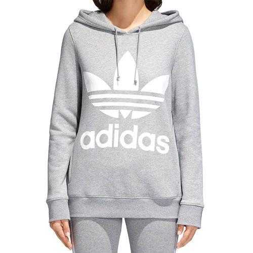 Blusa-Adidas-Capuz-Trefoil-Hoodie-Cinza