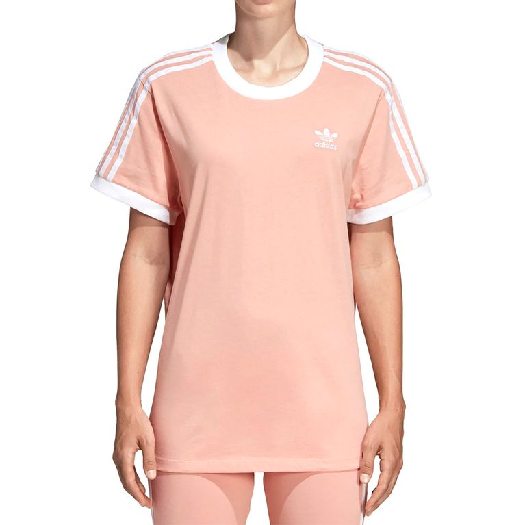 3ff7e3af429 Camiseta Adidas 3-Stripes Dust Pink - galleryrock