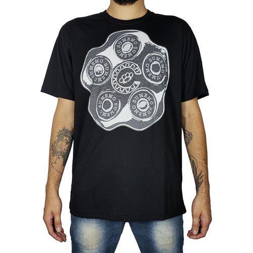 Camiseta-Sumemo-Tambor-Preta