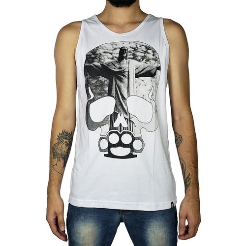 Camiseta-Regata-Sumemo-Caveira-Cristo-Redentor-