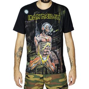 Camiseta-Premium-Iron-Maiden-Somewhere-In-Time-PRE042-S-