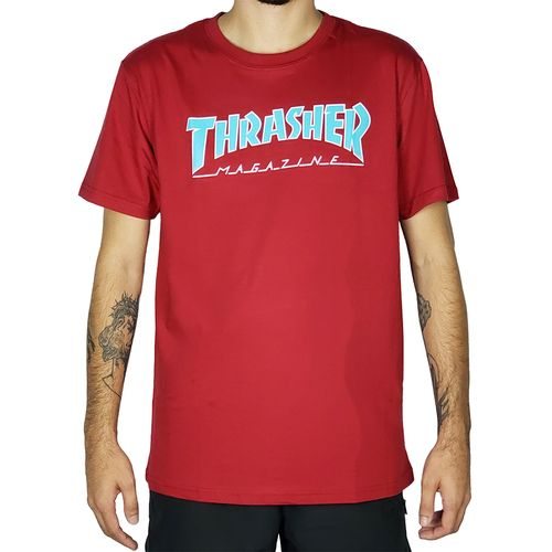 Camiseta-Thrasher-Outlined-Vermelha-