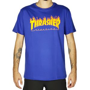 Camiseta-Thrasher-Flame-Logo-Royal-