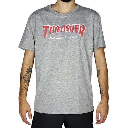 Camiseta-Thrasher-Outlined-Mescla-