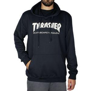 Blusa-de-Moletom-Thrasher-Capuz-Skate-Preto