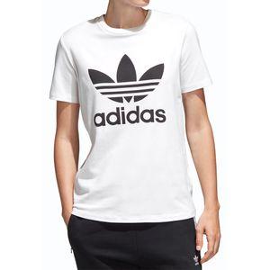 Camiseta-Adidas-Trefoil-White-Black