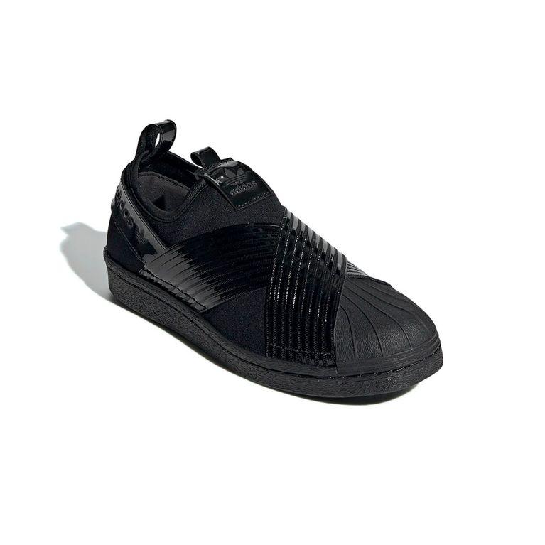 wholesale dealer 94400 754ee Tênis Adidas Superstar Slip On W Black/Black - galleryrock
