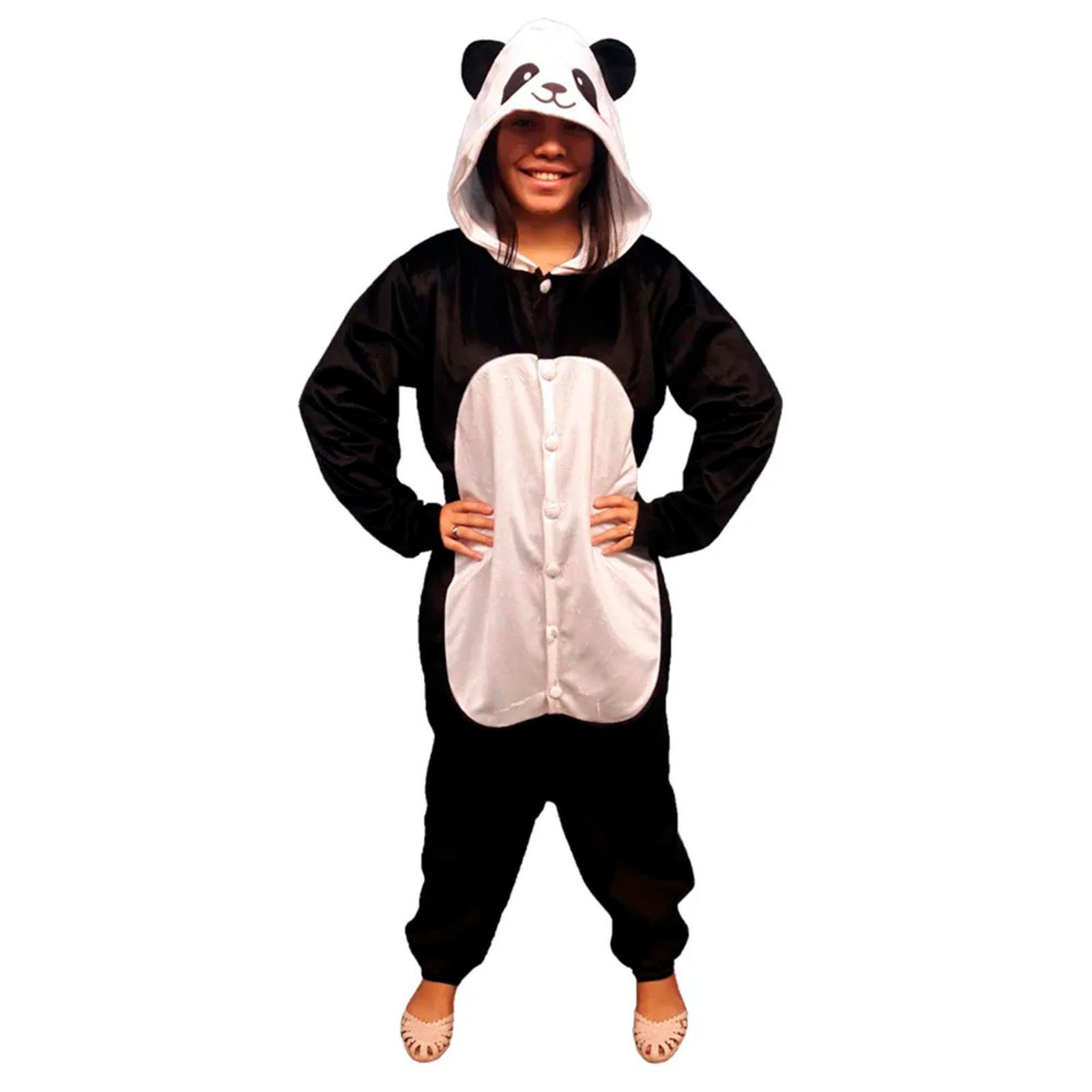 Pijama Kigurumi Fantasia Urso Panda Adulto Galleryrock