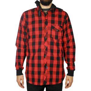 Camisa-Xadrez-Hocks-Floresta-–-Vermelho-