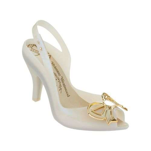 Melissa-Vivienne-Westwood---Anglomania-AN---Bege-Ouro-