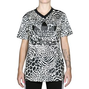 Camiseta-Adidas-Allover-Print-Tee---Bege-Preto
