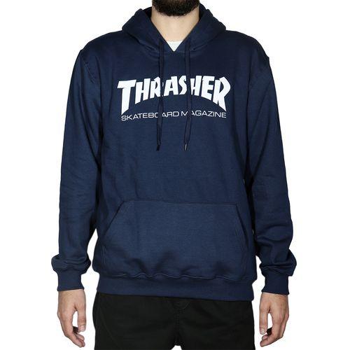 Blusa-de-Moletom-Thrasher-Capuz-Skate-Azul-
