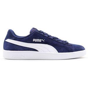 Tenis-Puma-Smash-V2-Bdp---Marinho-Branco-