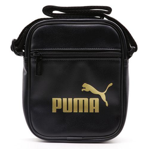 Bolsa-Puma-Core-Up-Portable---Preta-Dourado
