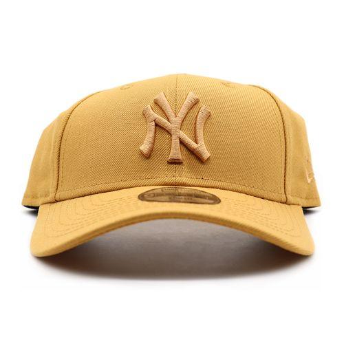 Bone-New-Era-Kids-940-Aba-Curva-New-York-Yankees-Basic---Mostarda-