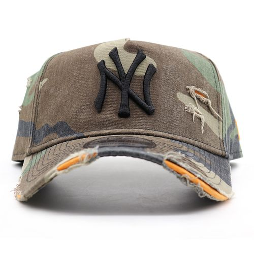 Bone-New-Era-940-Aba-Curva-Damage-New-York-Yankees---Camuflado
