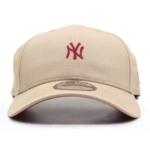Bone-New-Era-940-Aba-Curva-Minilogo-New-York-Yankees---Bege