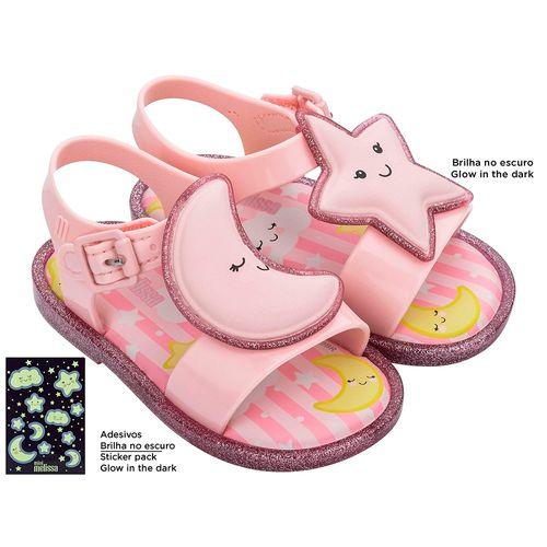 Mini-Melissa-Mar-Sandal-Sweet-Dreams---Rosa-Glitter-