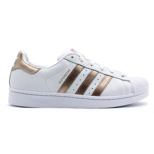 Tenis-Adidas-Superstar---Branco-Rose-Gold-